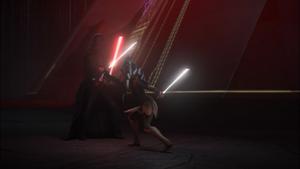Vader blocks