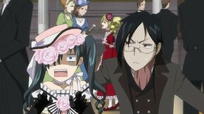 Ciel and Sebastian in Party