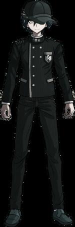 Danganronpa V3 Shuichi Saihara Fullbody Sprite (Hat) (13)