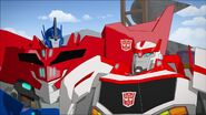 Optimus and Ratchet (Enemy of My Enemy)