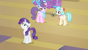 Rarity How could this happen S4E08