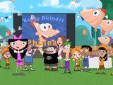 El video Cumpleaños de Phineas /Retrospectiva