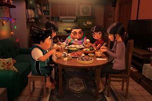 Abominable family dinner
