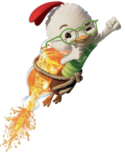 Chicken Little (Transparent)