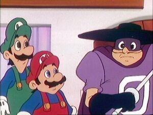 Luigi cartoon 7