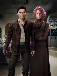Poe and Holdo EW Cover Textless