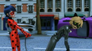 Stormy Weather - Ladybug and Cat Noir
