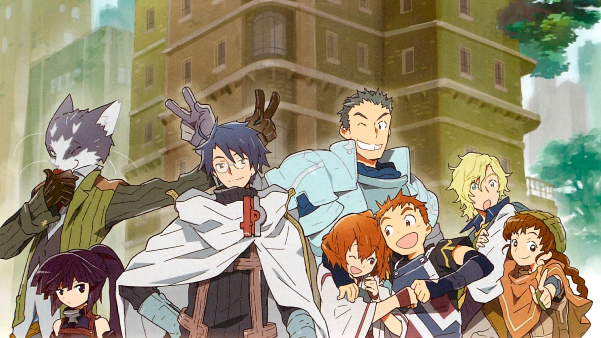Best Isekai anime of all time #3 Log Horizon