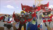 Optimus, Ratchet, Windblade and Jazz