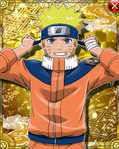 Naruto Uzumaki Card 2