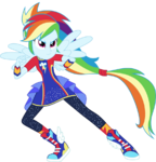Vector 7 rainbow dash by whalepornoz-dc3vu69