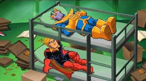 Adam Warlock scenes (trapped in Soul stone)-Super Hero Squad Show