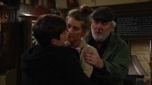 Debbie threatens Robbie Lawson