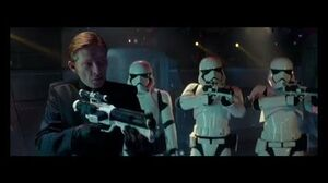 General Hux helps Finn, Poe and Chewbacca to escape (STAR WARS The Rise of Skywalker)