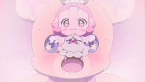 Ha-chan defend Mofurun
