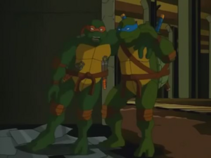 Leonardo & Michelangelo (S04E16)
