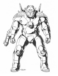 PA-10 Power Armor (Rifts Dimension Book, Phase World 1)