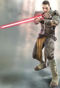 Starkiller in Soul Calibur 4