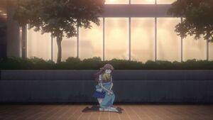 Tohru & Kisa hug