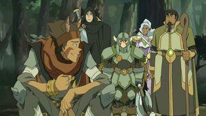VLD - Lance, Shiro, Pidge, Allura and Hunk