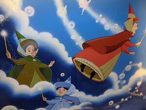 Floar, Fauna And Merryweather