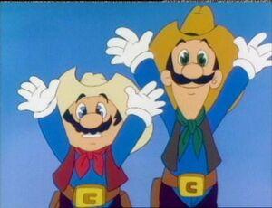 Luigi cartoon 5