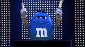 M&M's - Blue Man (2011, USA)
