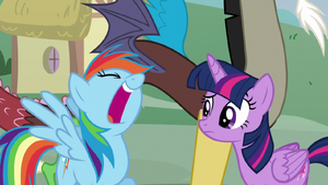 Rainbow Dash laughing S5E22