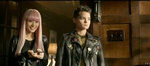 Yukio and Negasonic Teenage Warhead
