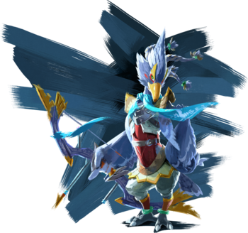 Revali Artwork (Breath of the Wild)