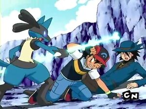 Ash and Riley in Trouble.