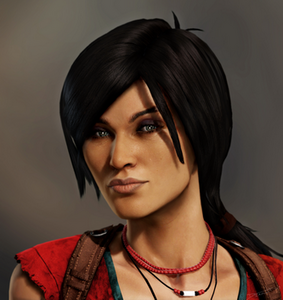Chloe Fraser in Uncharted 2