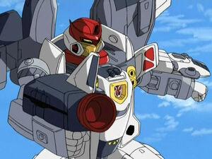 Jetfire in Earth (Armada Series)
