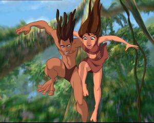 Jungle King and Jungle Princess