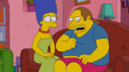 Marge and Comic Book Guy (S25E10)