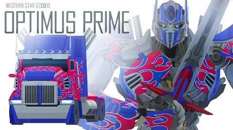 OPTIMUS PRIME(AOE) - Short Flash Transformers Series