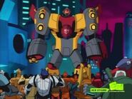 Omega Supreme on Cybertron