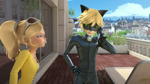 The Evillustrator - Chloé and Cat Noir 05