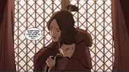 Ursa hugs Zuko
