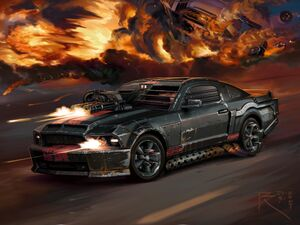 Ford-Mustang Shelby GT500-front-6psd