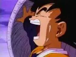 Goten crying