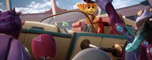 Ratchet and Clank becoming a hero