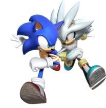 Sonic with silver