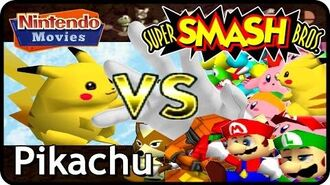 Super Smash Bros. - Adventure Pikachu