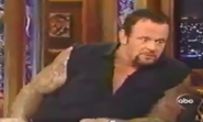 The Undertaker in The Jimmy Kimmel Live