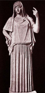 Hestia, Statue