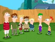 Phineas, Ferb y los Primos