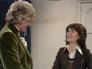 Sarah meeting the Doctor first time