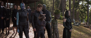 Guardians of the Galaxy Funeral