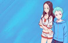 Ao and Naru
